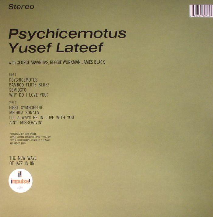 LATEEF, Yusef - Psychicemotus