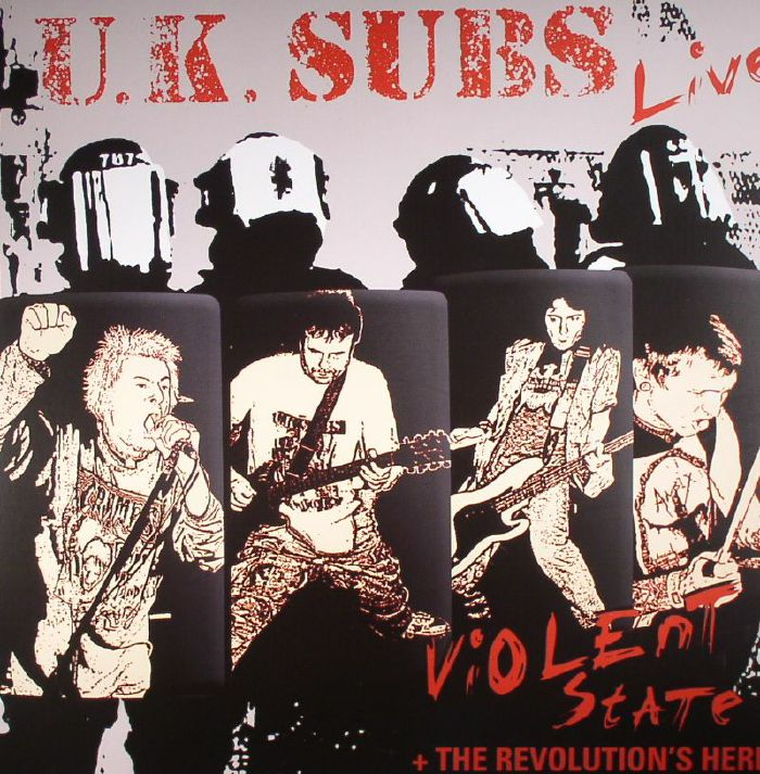 Uk Subs Live Violent State The Revolution S Here Record