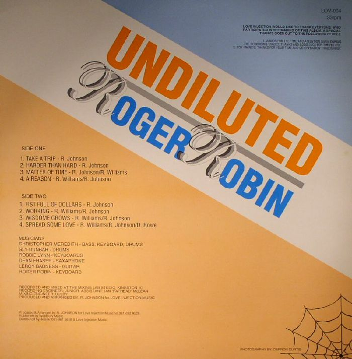 ROBIN, Roger - Undiluted