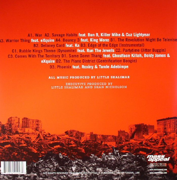 LITTLE SHALIMAR - Rubble Kings (Soundtrack)