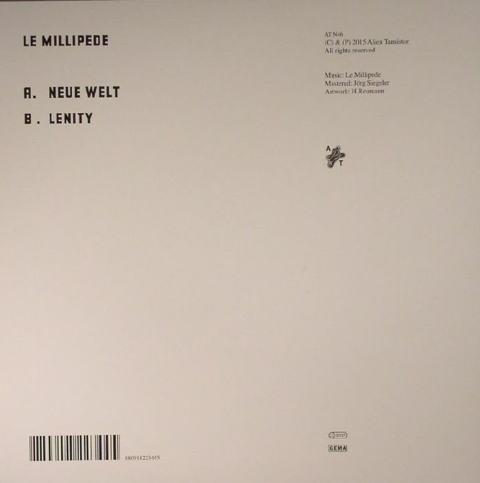 LE MILLIPEDE - Neue Welt