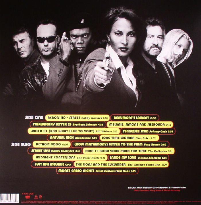 VARIOUS Jackie Brown A Quentin Tarantino Soundtrack vinyl