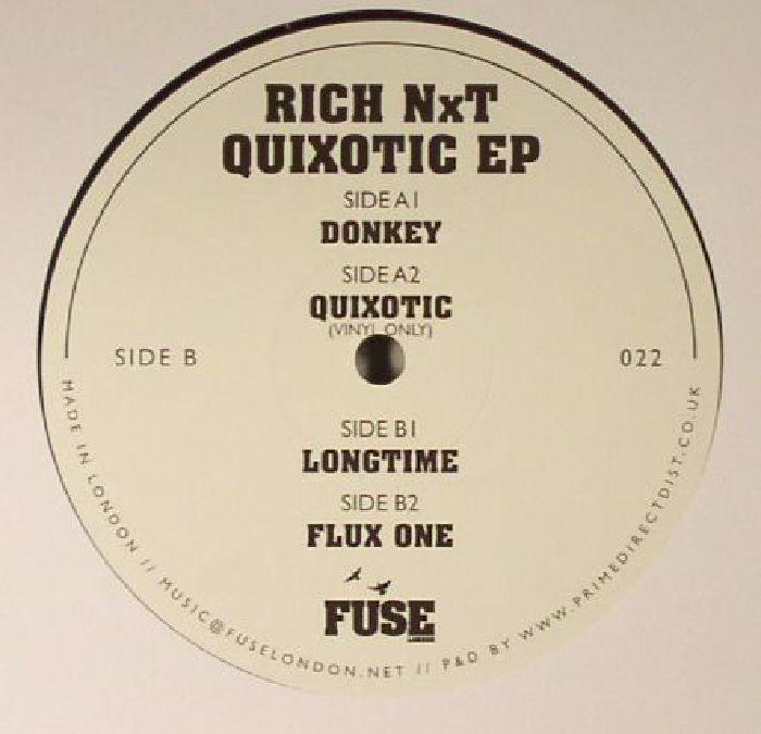 RICH NXT - Quixotic EP