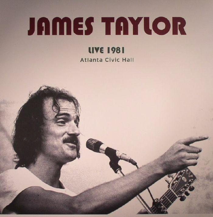 TAYLOR, James - Live At Atlanta Civic Hall GA May 13 1981
