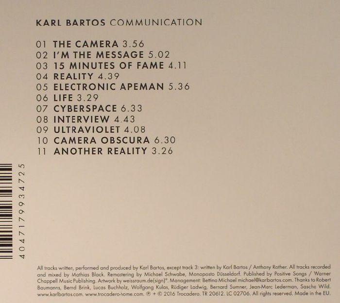 BARTOS, Karl - Communication (2016)