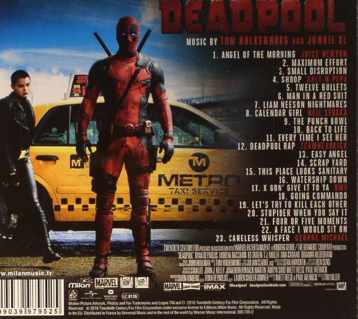 Tom Aka Junkie Xl Holkenborg Deadpool Soundtrack Vinyl