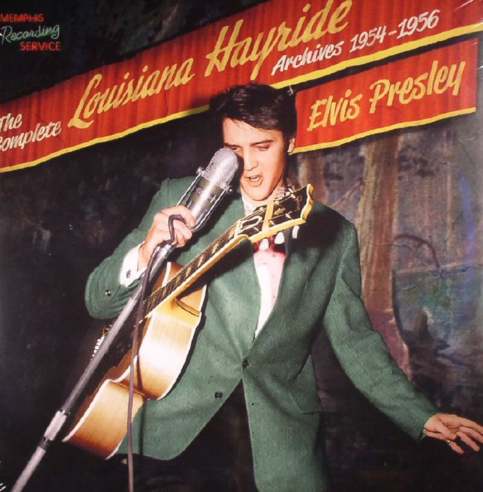 PRESLEY, Elvis - The Complete Louisiana Hayride Archives 1954-1956 (remastered) (Record Store Day 2016)