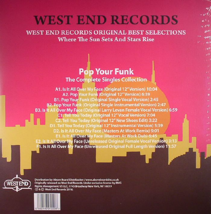 LOOSE JOINTS - Pop Your Funk: The Complete Singles Collection (Record Store Day 2016)