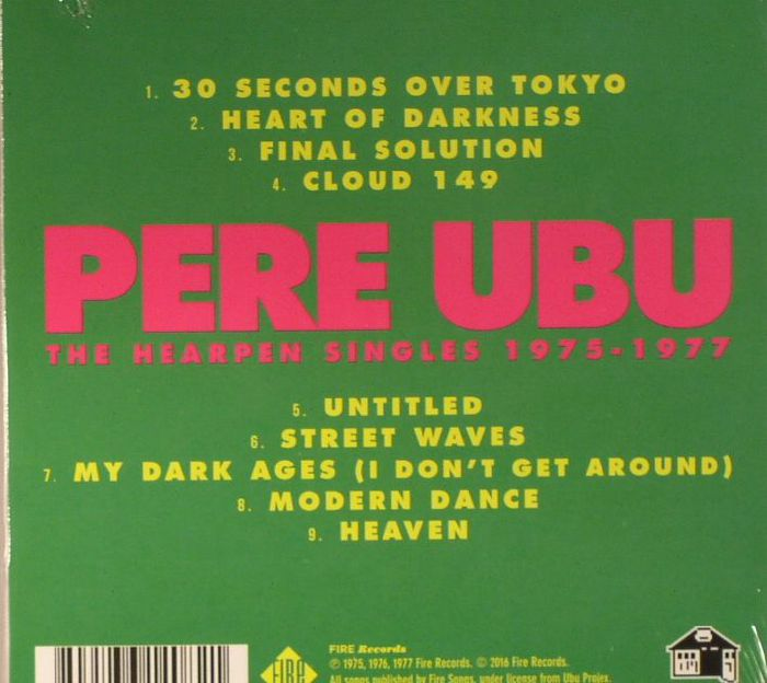 Pere Ubu The Hearpen Singles 1975 1977 Vinyl At Juno Records