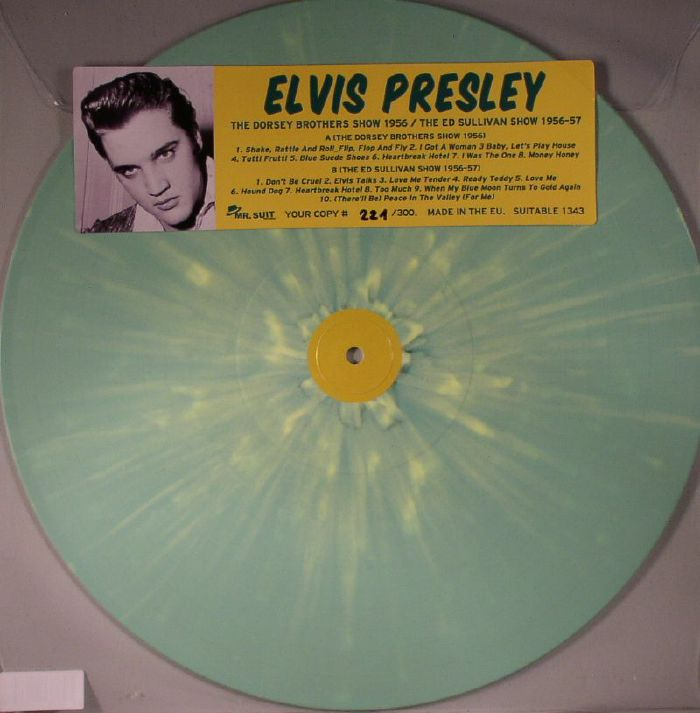 PRESLEY, Elvis - The Dorsey Brothers Show 1956/The Ed Sullivan Show 1956-57