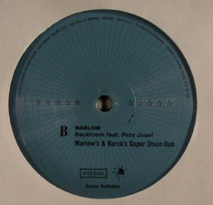 MARLOW feat PETE JOSEF - Backroom (Record Store Day 2016)