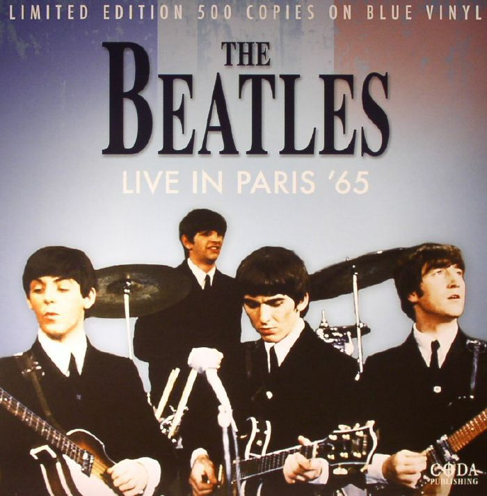 BEATLES, The - Live In Paris '65