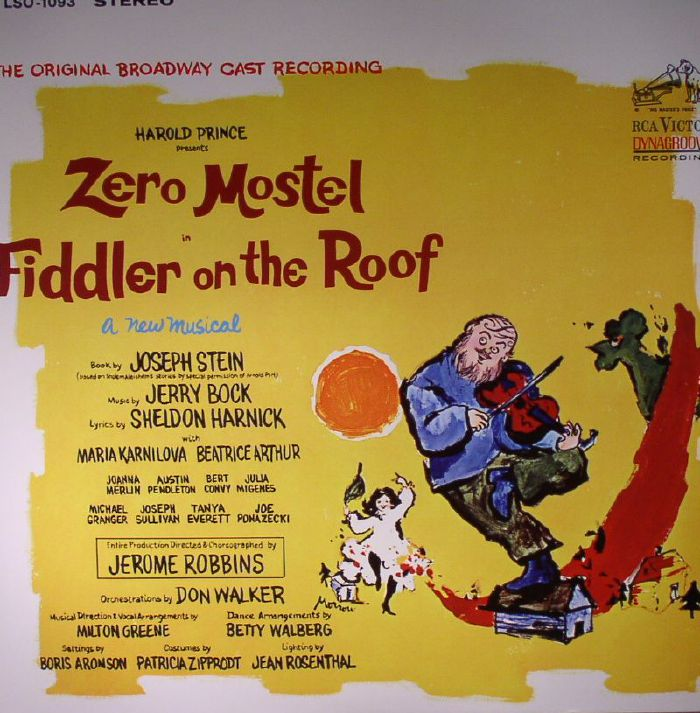 PRINCE, Harold presents ZERO MOSTEL/VARIOUS - Fiddler On The Roof (Soundtrack)