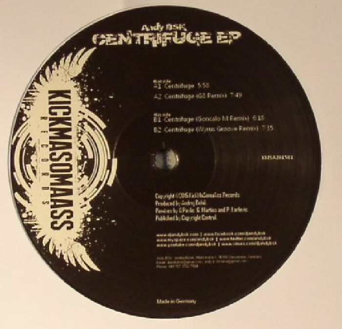 BSK, Andy - Centrifuge EP