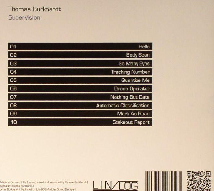 BURKHARDT, Thomas - Supervision