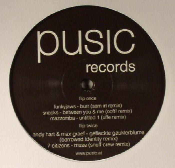 FUNKYJAWS/SNACKS/MAZZOMBA/ANDY HART/MAX GRAEF/7 CITIZENS - Pusic Records 007