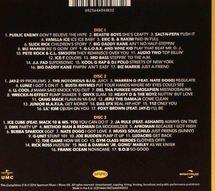 VARIOUS - Classic Hip Hop