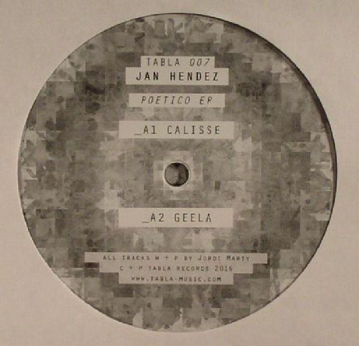 HENDEZ, Jan - Poetico EP