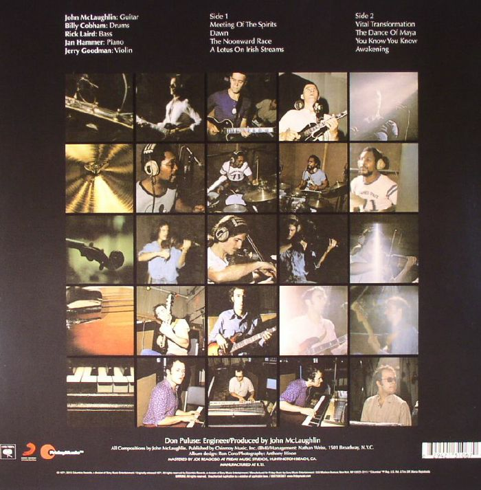 MAHAVISHNU ORCHESTRA, The with JOHN McLAUGHLIN - The Inner Mounting Flame