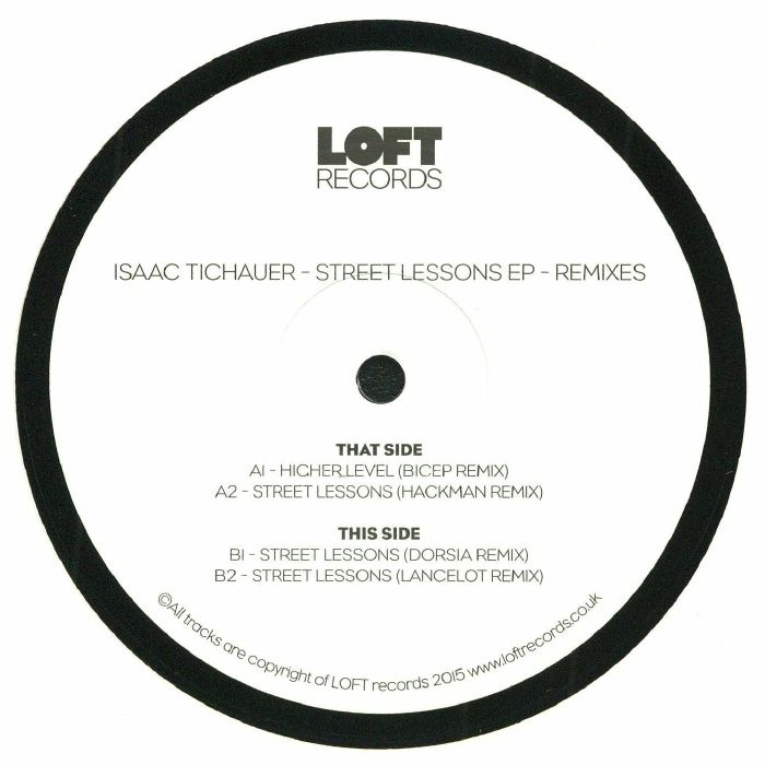TICHAUER, Isaac - Street Lessons EP (Bicep remix)
