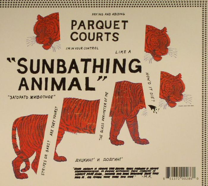 PARQUET COURTS - Sunbathing Animal/Content Nausea