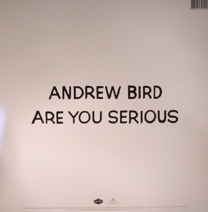 BIRD, Andrew - Are You Serious