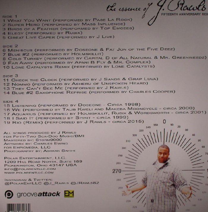 RAWLS, J - Essence Of: Fifteenth Anniversary Redux