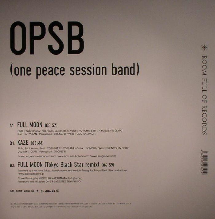 OPSB aka ONE PEACE SESSION BAND - Full Moon