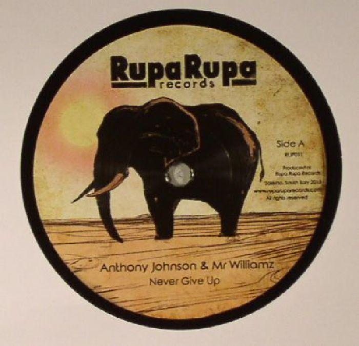 JOHNSON, Anthony/MR WILLIAMZ/MASTA G - Never Give Up