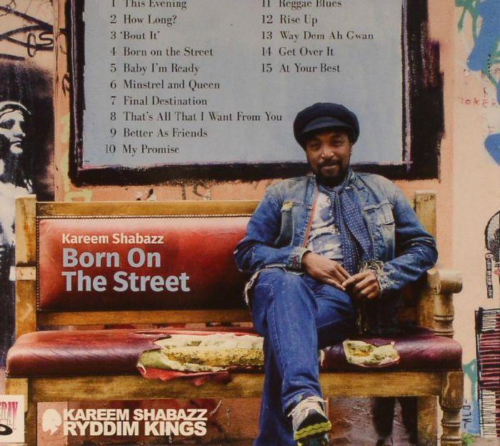 SHABAZZ, Kareem - Born On The Street