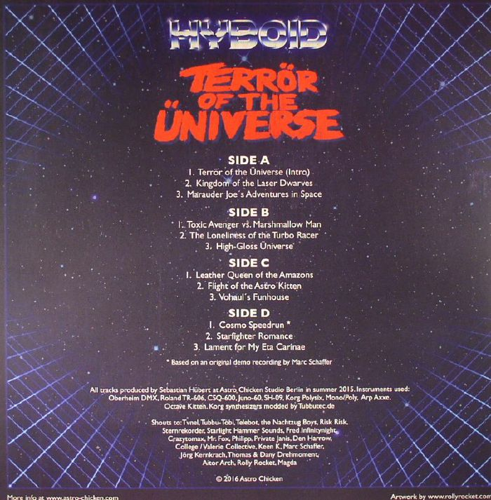 HYBOID - Terror Of The Universe