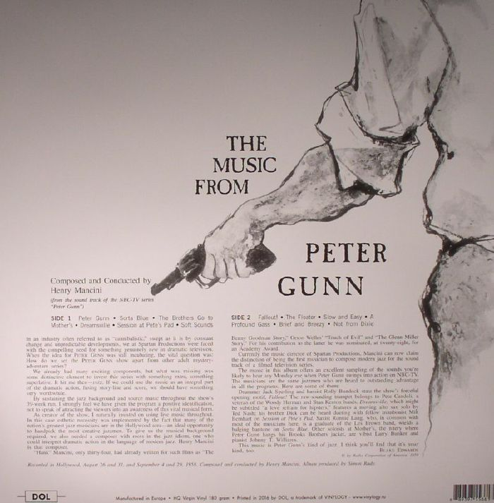 MANCINI, Henry - The Music From Peter Gunn (Soundtrack)
