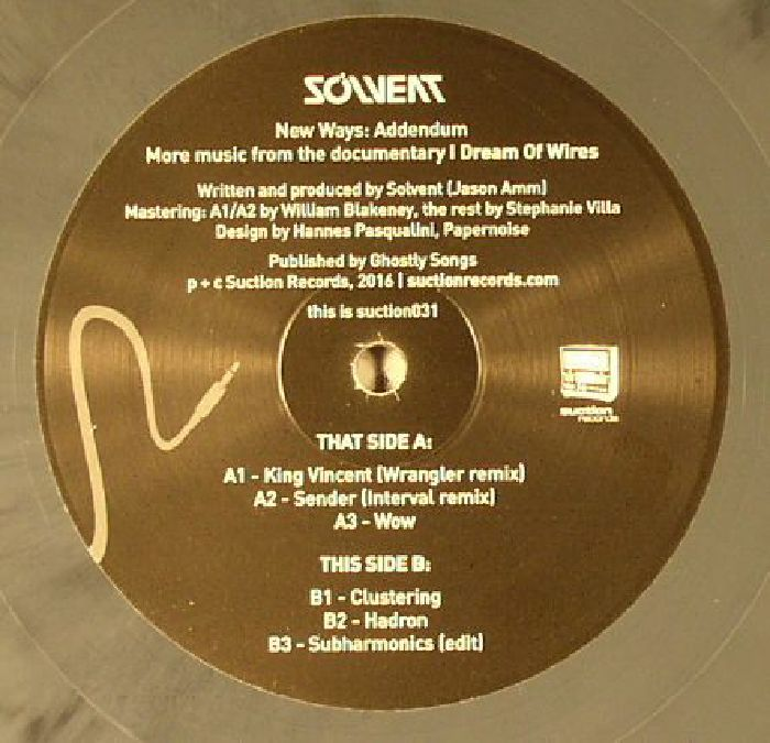 SOLVENT - New Ways: Addendum