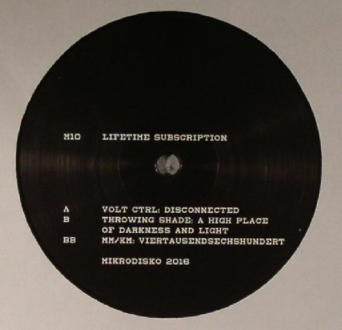 Volt Ctrl Throwing Shade Mm Km Lifetime Subscription Vinyl