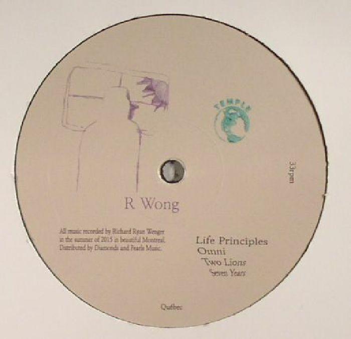 R WONG - Life Principles
