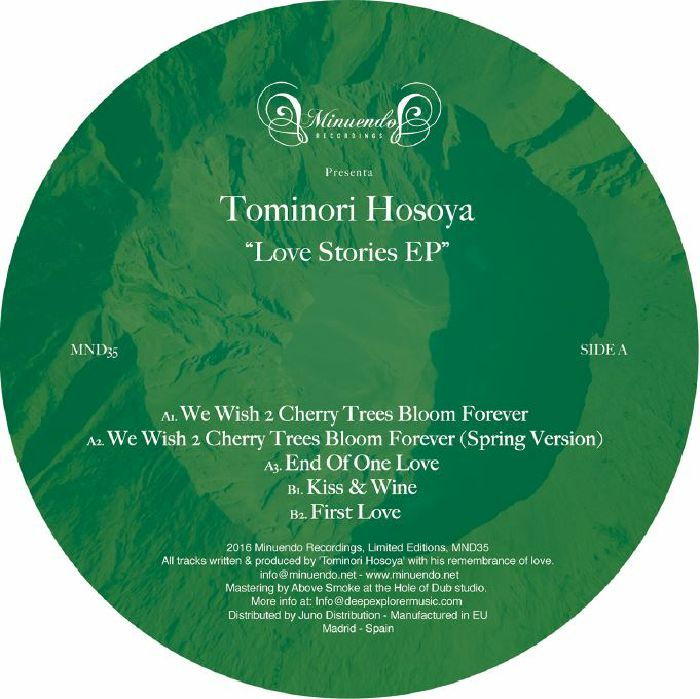 HOSOYA, Tominori - Love Stories EP