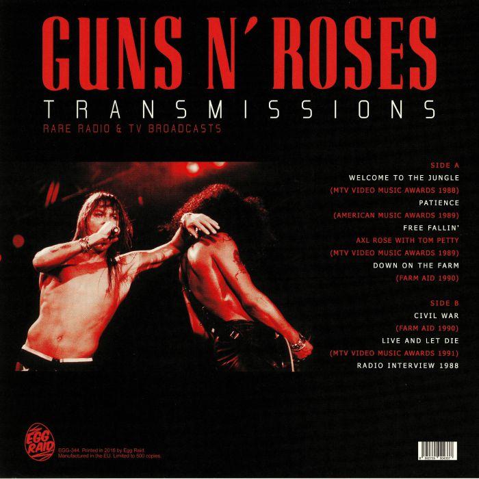 GUNS N ROSES - Transmissions: Rare Radio & TV Broadcasts