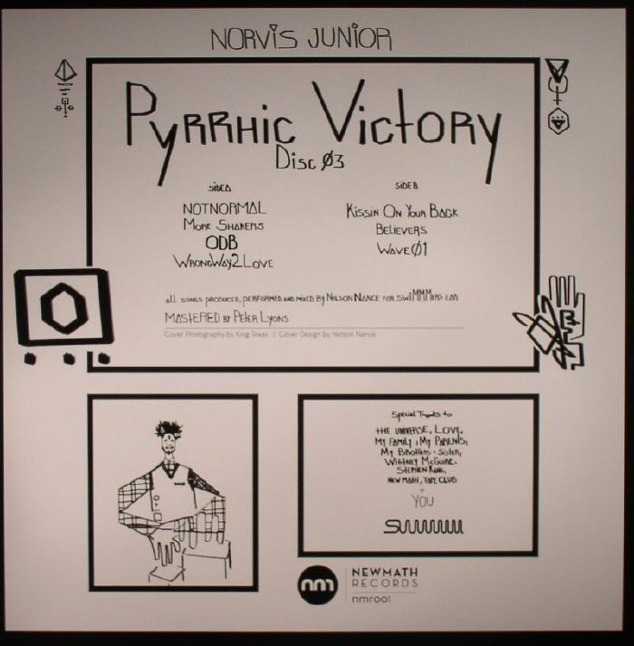 JUNIOR, Norvis - Pyrrhic Victory Disc 03