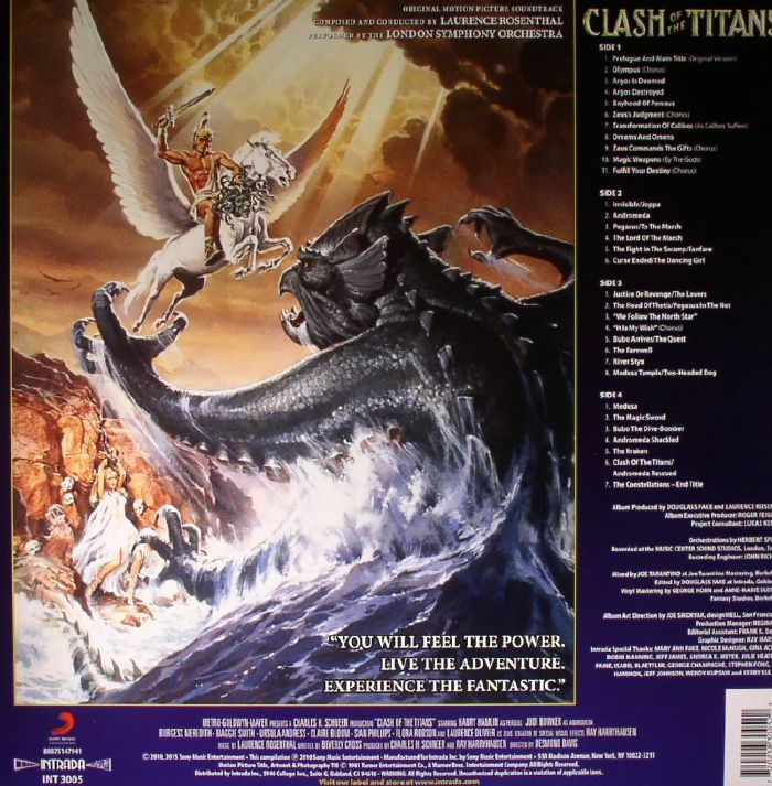 ROSENTHAL, Laurence/LONDON SYMPHONY ORCHESTRA - Clash Of The Titans (Soundtrack)