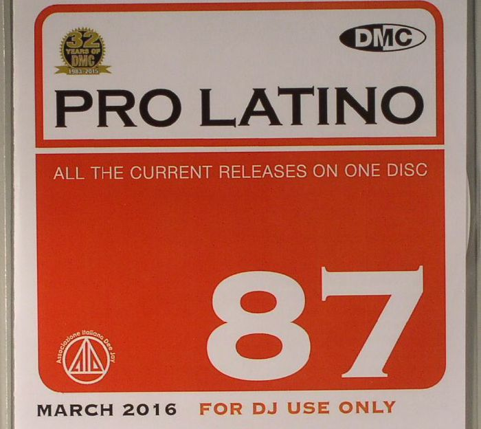 VARIOUS - DMC Pro Latino 87: March 2016 (Strictly DJ Only)