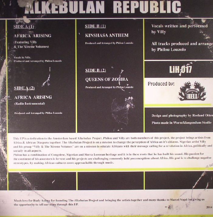 LOUZOLO, Philou - Alkebulan Republic