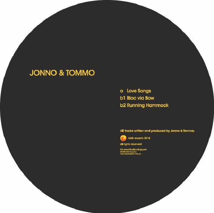 JONNO & TOMMO - Love Songs EP