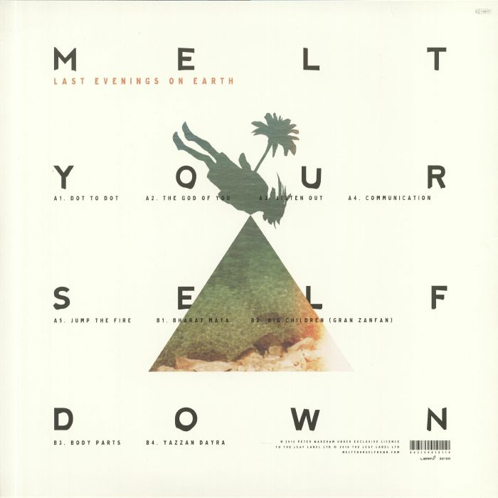 MELT YOURSELF DOWN - Last Evenings On Earth