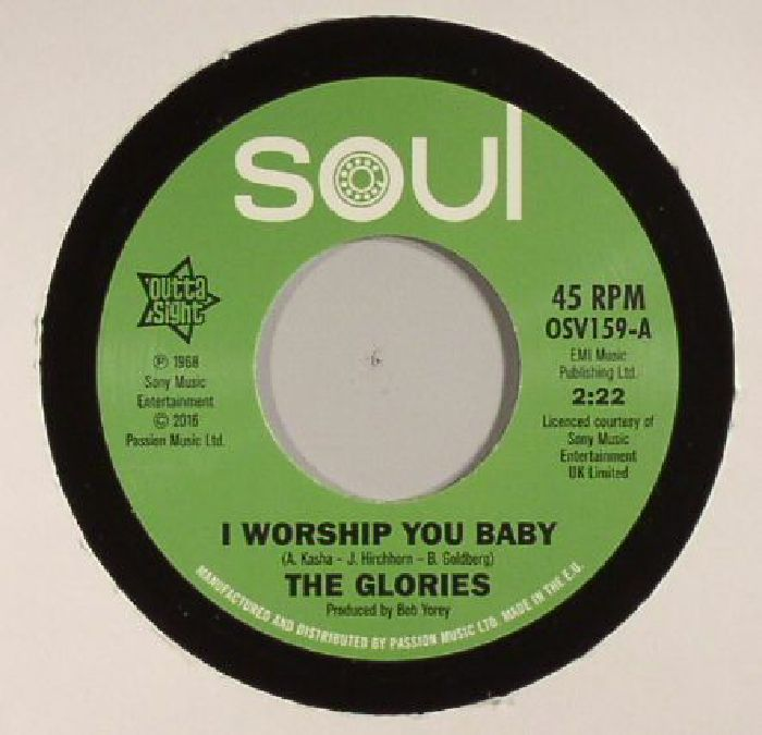 GLORIES, The/THE OPALS - I Worship You Baby