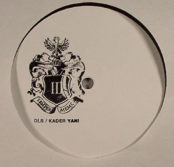 DLS/KADER YANI - Joint EP