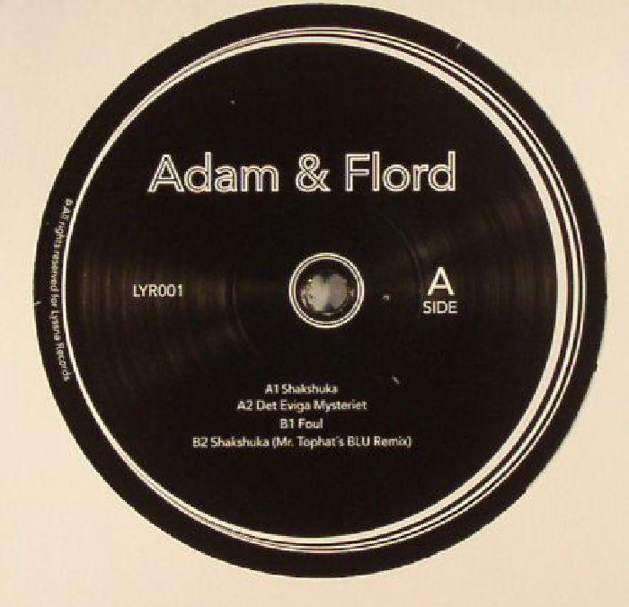 STRÖMSTEDT, Adam & FLORD KING - Shakshuka EP