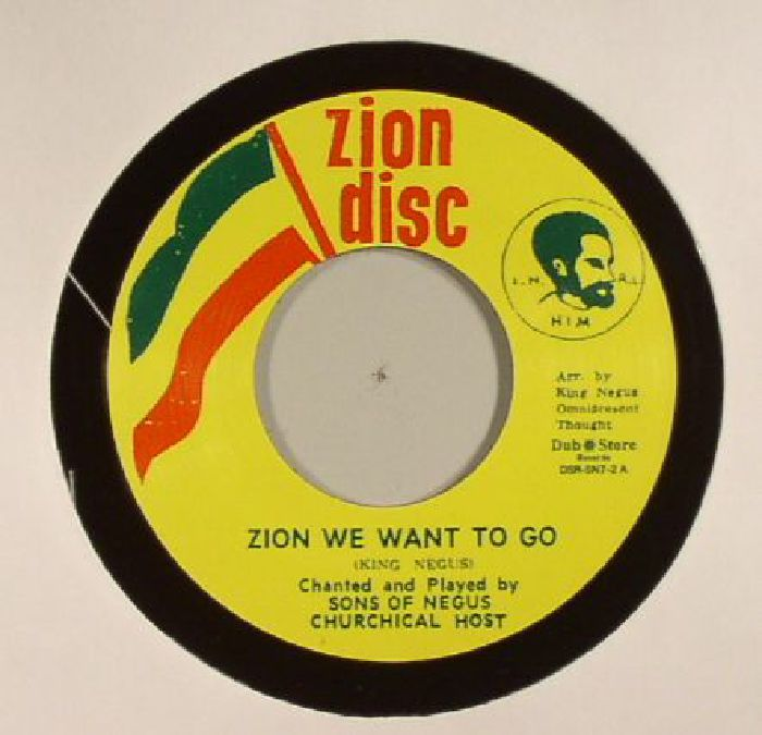 SONS OF NEGUS - Zion We Want To Go