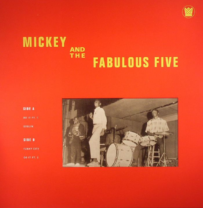 MICKEY & THE FABULOUS FIVE - Mickey & The Fabulous Five