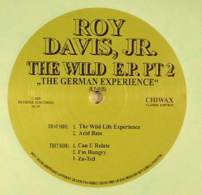 DAVIS JR, Roy - The Wild Life EP Pt 2: The German Experience