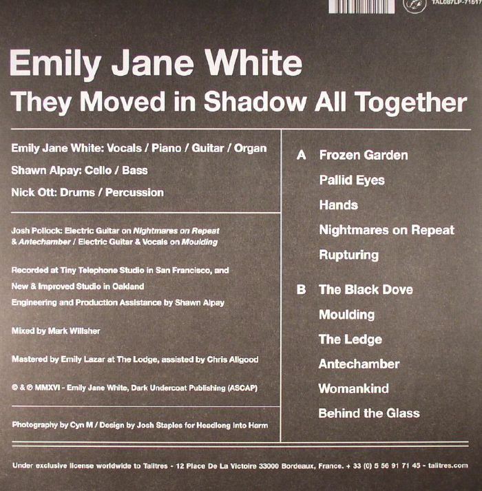 WHITE, Emily Jane - They Moved In Shadow All Together